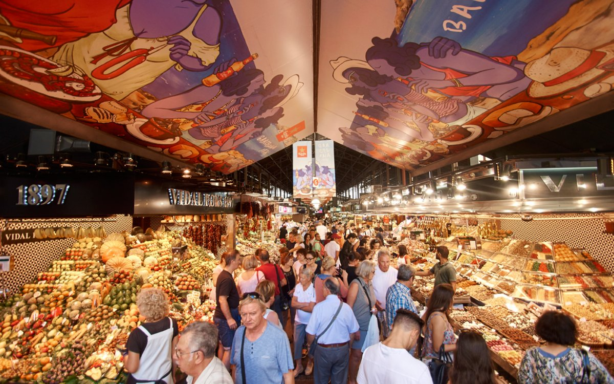 Boqueria market becomes one of the 'Magnificent Seven'