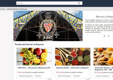 Boqueria market launches an online shopping service