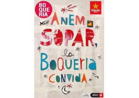 Anem a sopar, la Boqueria convida (Let's have supper, Boqueria will foot the bill)